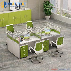 Những lưu ý khi lựa chọn và sử dụng bàn văn phòng có vách ngăn - 2