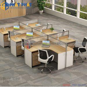 Những lưu ý khi lựa chọn và sử dụng bàn văn phòng có vách ngăn