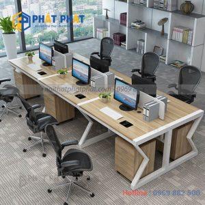Những lưu ý khi lựa chọn và sử dụng bàn văn phòng có vách ngăn - 1