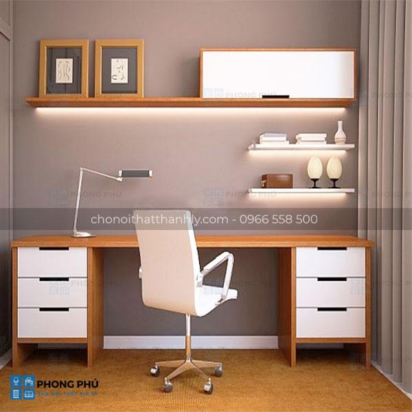 Những ý tưởng thiết kế bàn làm việc đại nhà đẹp và hiện đại - 1