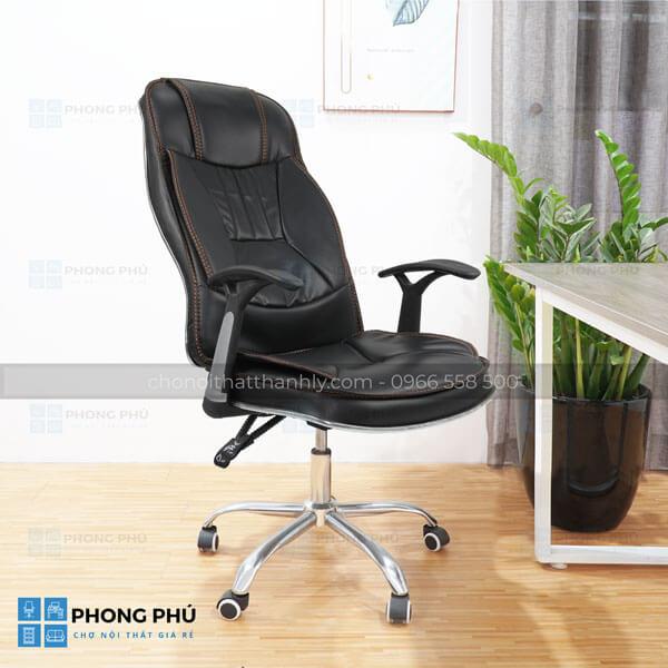 Sử dụng những mẫu ghế xoay trưởng phòng đẹp, hiện đại