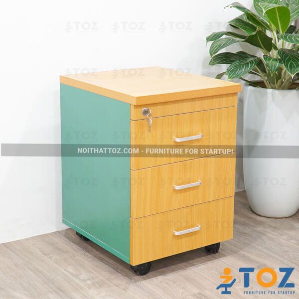 Tủ nhỏ văn phòng với thiết kế đơn giản, tiết kiệm diện tích - 2
