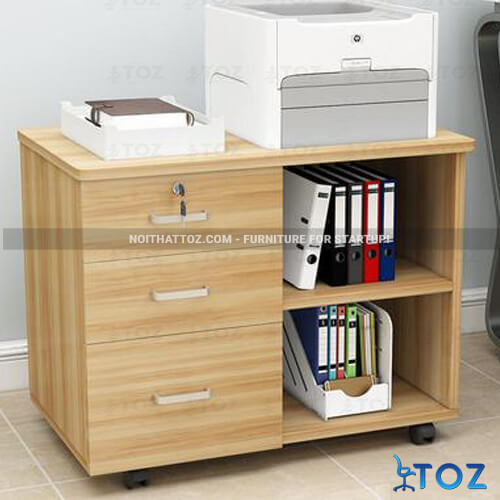 Tủ nhỏ văn phòng với thiết kế đơn giản, tiết kiệm diện tích - 1
